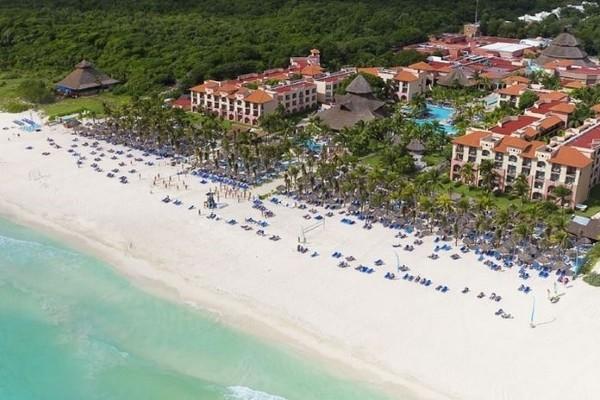 Plage - Hôtel Sandos Playacar Beach Resort 5* Cancun Mexique