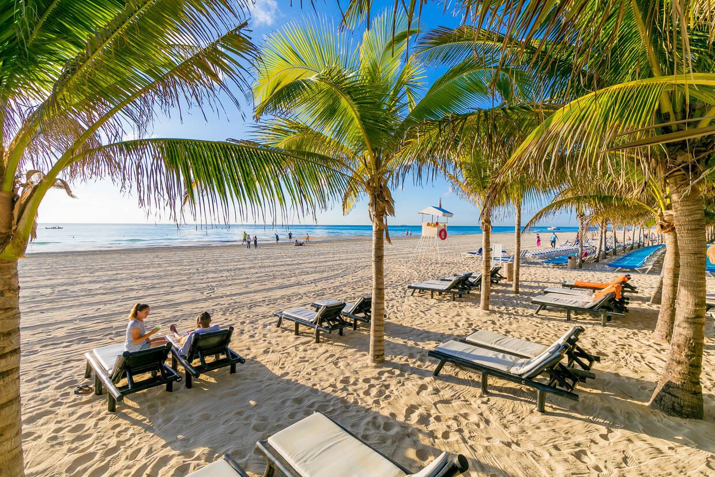 Plage - Hôtel Viva Wyndham Maya 4* Cancun Mexique