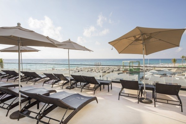 Terrasse - Melody Maker Cancun 5* Cancun Mexique