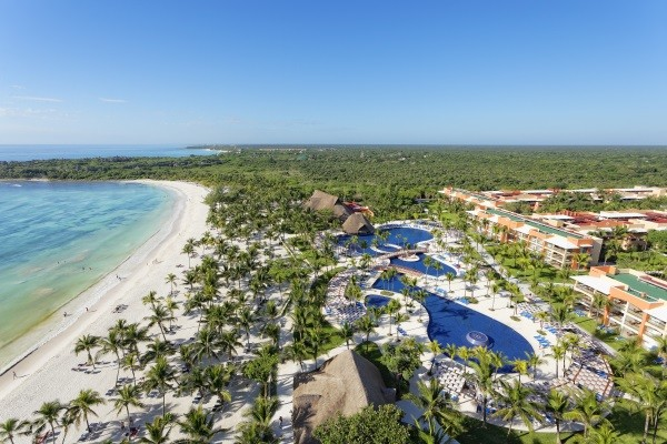 Vue panoramique - Hôtel Barcelo Maya Beach Resort 5*