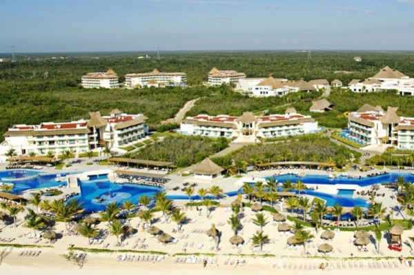 Vue panoramique - Club Coralia BlueBay Grand Esmeralda 4* Cancun Mexique