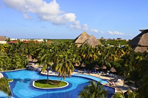 Vue panoramique - Hôtel Grand Bahia Principe Coba 5* Cancun Mexique