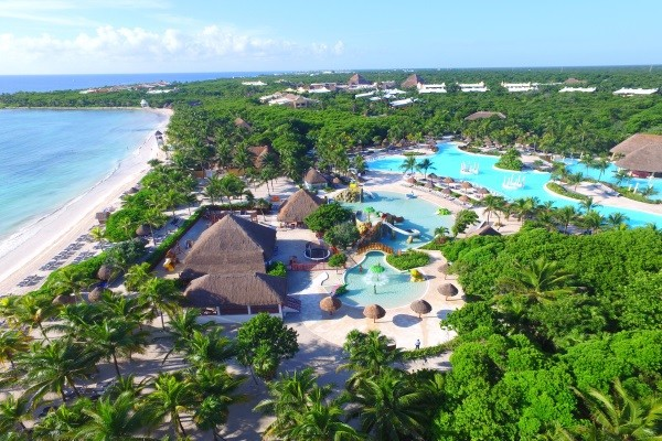 Vue panoramique - Grand Palladium Colonial & Kantenah Resort & Spa 5* Cancun Mexique