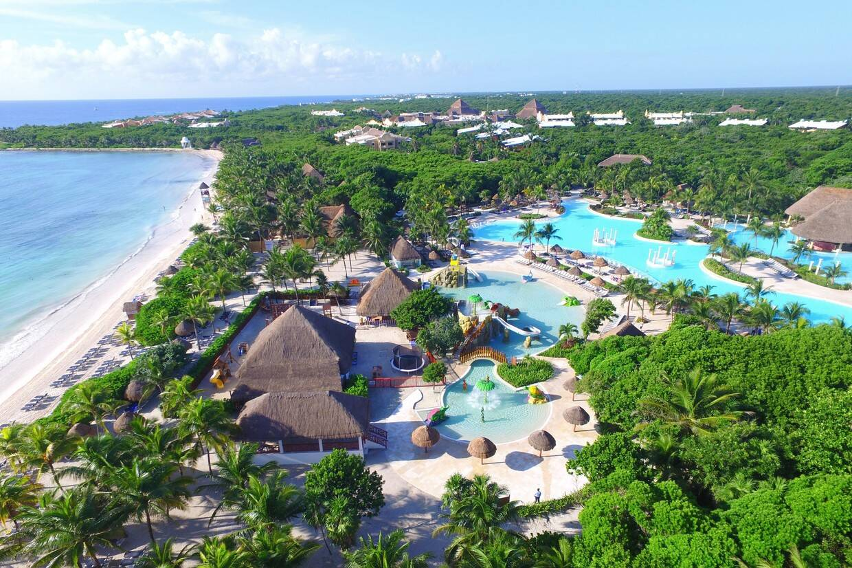 Vue panoramique - Grand Palladium Kantenah Resort & Spa 5* Cancun Mexique