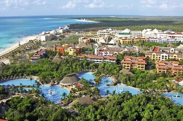 Vue panoramique - Hôtel Iberostar Paraiso Beach 5* Cancun Mexique