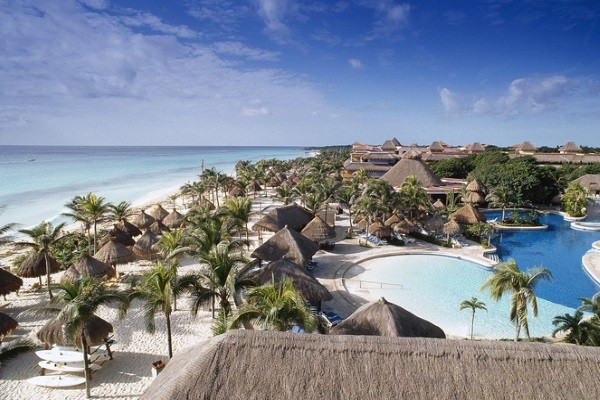 Vue panoramique - Hôtel Iberostar Quetzal 5* Cancun Mexique