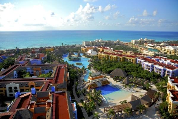 Vue panoramique - Hôtel Iberostar Sélection Paraiso Maya 5* Cancun Mexique