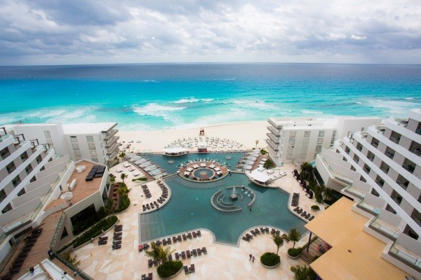 Vue du ciel - Melody Maker Cancun