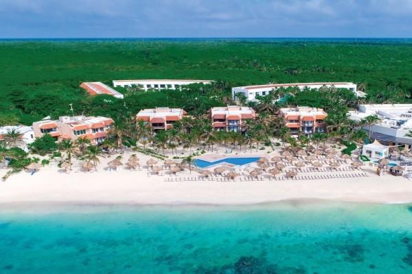 Vue panoramique - Hôtel Sunscape Akumal Beach Resort & Spa 4* Cancun Mexique