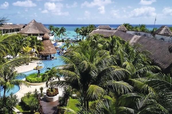 Vue panoramique - Hôtel The Reef Coco Beach 4* Cancun Mexique