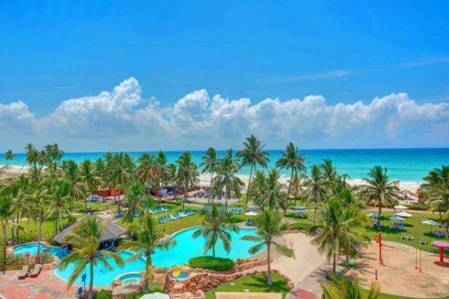 Fram Oman : hotel Hôtel Crowne Plaza Resort Salalah - Salalah