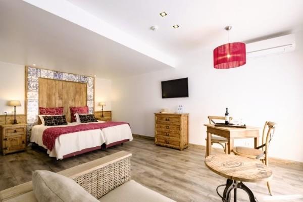 Chambre - Hôtel Villas D. Dinis Charming Residence 3* Faro Portugal