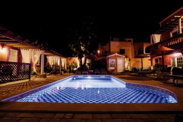 Facade - Hôtel Villas D. Dinis Charming Residence 3* Faro Portugal