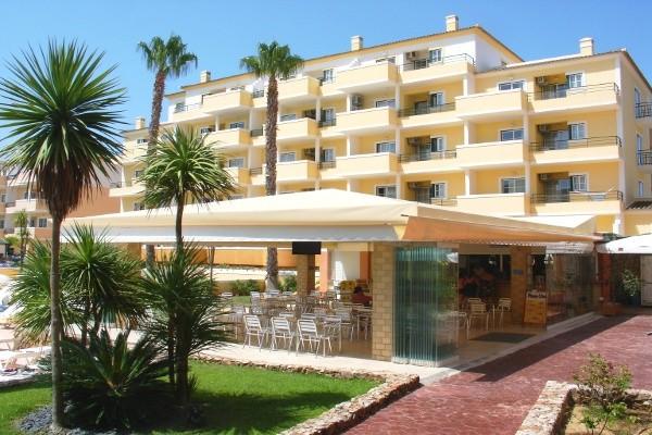 Facade - Hôtel Vitor's Plaza 4* Faro Portugal