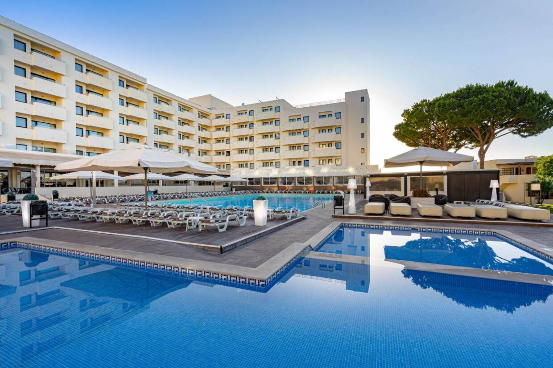 Piscine - Hôtel Albufeira Sol 4* Faro Portugal