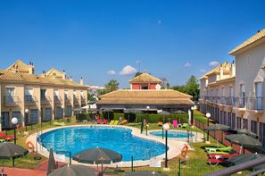 Portugal-Faro, Hôtel Top Clubs Golf Playa Islantilla