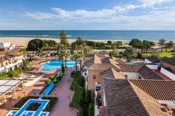 Vue panoramique - Club Framissima Barcelo Isla Canela 4* Faro Portugal