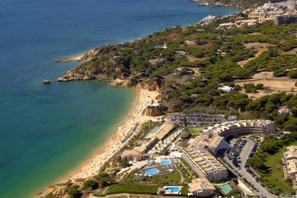 Vue panoramique - Hôtel Grande Real Santa Eulália Resort & Spa 5* Faro Portugal