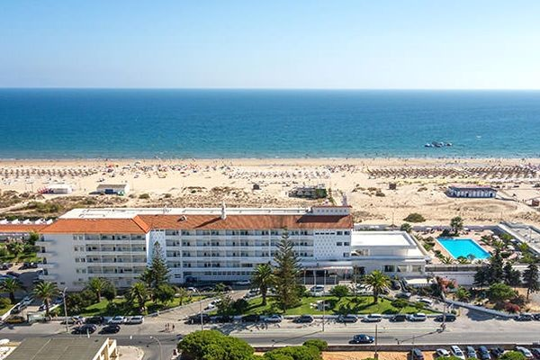 Vue panoramique - Hôtel Le Vasco da Gama 3* Faro Portugal