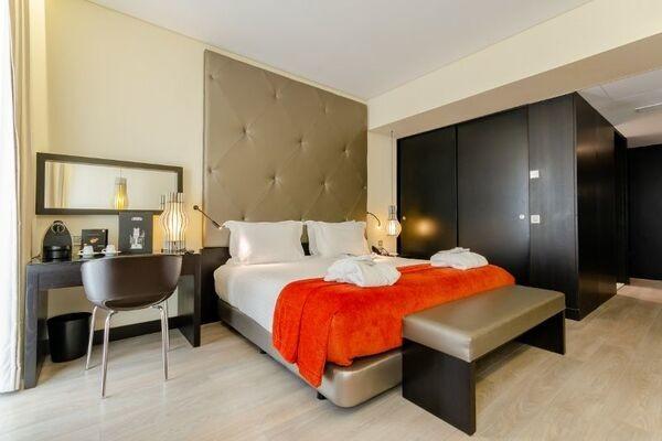 Chambre - Hôtel Kappa City Lisbonne - Santa Justa 4* Lisbonne Portugal