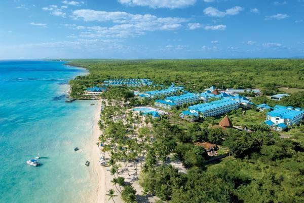 Vue panoramique - Hôtel Hilton La Romana (ancien Dreams La Romana) (sans transport) 5* Bayahibe Republique Dominicaine