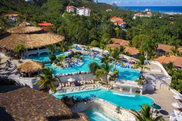 Piscine - Cofresi Palm Beach Resort & Spa 4*Sup Saint Domingue Republique Dominicaine