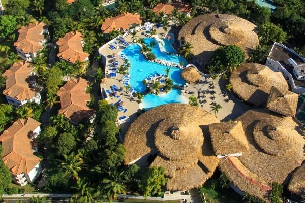 Vue panoramique - Hôtel Cofresi Palm Beach Resort & Spa 4* sup