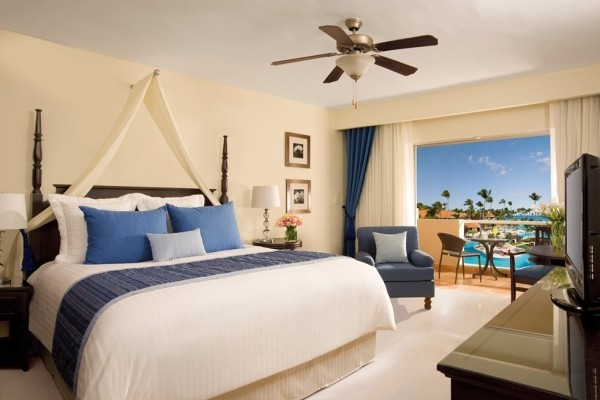 Chambre - Hôtel Dreams Palm Beach Punta Cana 5* Punta Cana Republique Dominicaine