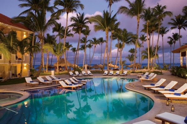 Piscine - Hôtel Dreams Palm Beach Punta Cana 5* Punta Cana Republique Dominicaine
