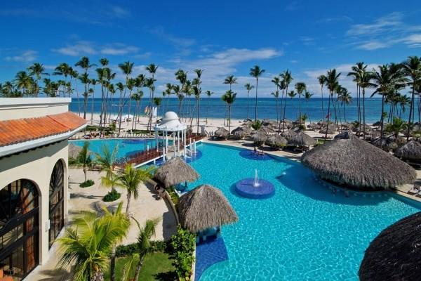 Piscine - Hôtel Paradisus Palma Real 5* Punta Cana Republique Dominicaine