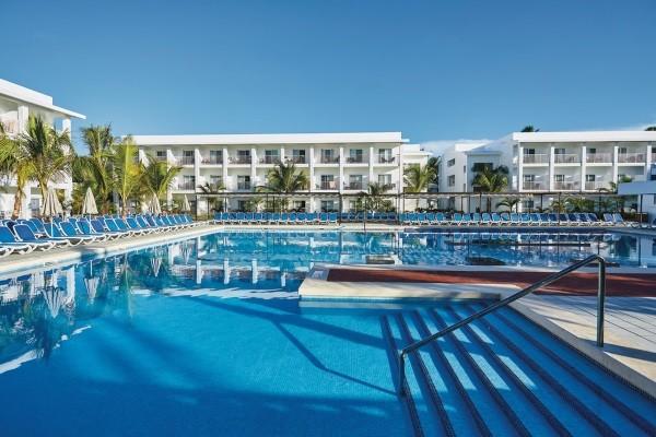 Piscine - Hôtel Riu Bambu 5* Punta Cana Republique Dominicaine