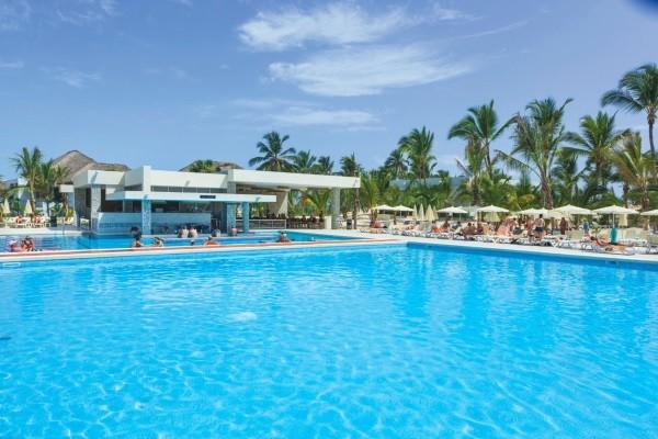 Piscine - Hôtel Riu Republica 5* Punta Cana Republique Dominicaine