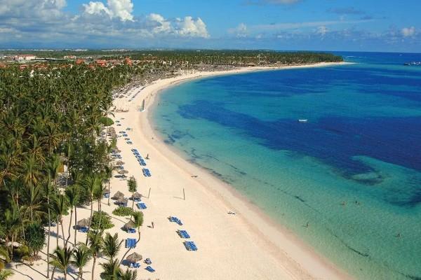 Plage - Hôtel Melia Caribe Beach Resort 5* Punta Cana Republique Dominicaine