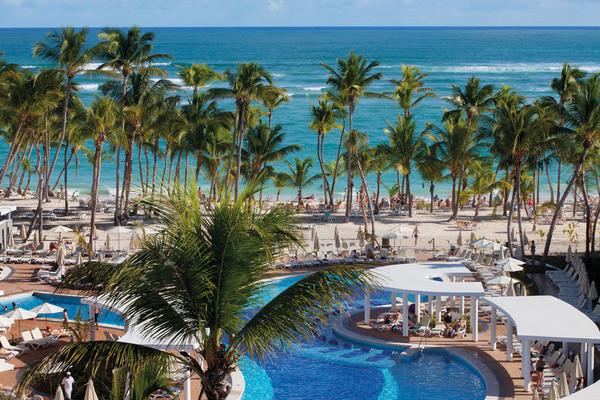 Plage - Hôtel Riu Palace Bavaro 5* Punta Cana Republique Dominicaine