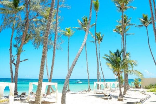 Plage - Hôtel Vista Sol Punta Cana Beach Resort & Spa 4* Punta Cana Republique Dominicaine