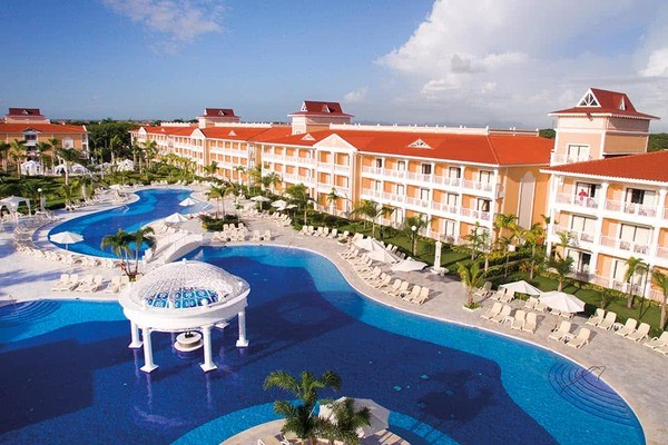 Vue panoramique - Hôtel Bahia Principe Grand Aquamarine 5* Punta Cana Republique Dominicaine