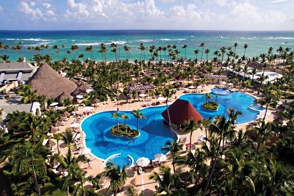 Vue panoramique - Hôtel Bahia Principe Luxury Ambar 5* Punta Cana Republique Dominicaine