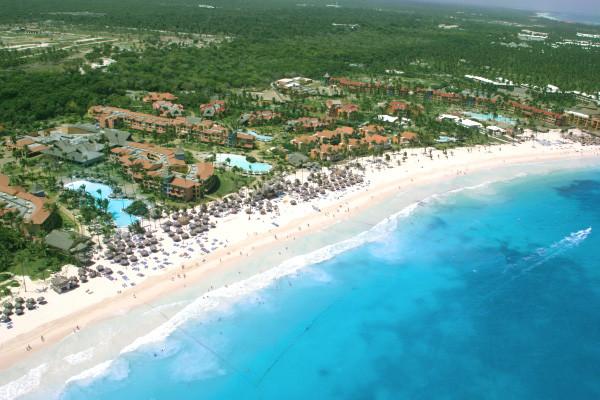 Vue panoramique - Hôtel Caribe Club Princess 4* sup