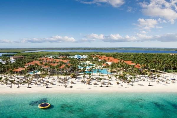 Vue panoramique - Hôtel Dreams Palm Beach Punta Cana 5* Punta Cana Republique Dominicaine