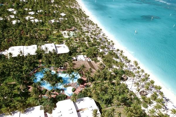 Vue panoramique - Hôtel Grand Palladium Punta Cana Resort & Spa 5* Punta Cana Republique Dominicaine