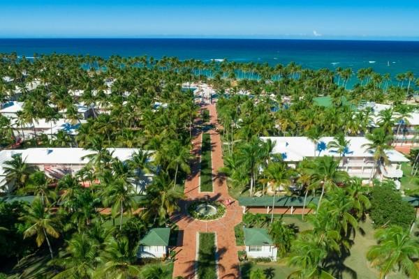 Vue panoramique - Hôtel Grand Sirenis Punta Cana Resort 5* Punta Cana Republique Dominicaine