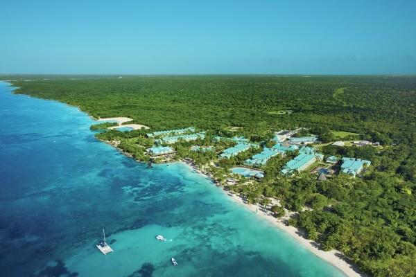 Vue panoramique - Hôtel Hilton La Romana Adult Only (ex Dreams La Romana) 5* Punta Cana Republique Dominicaine