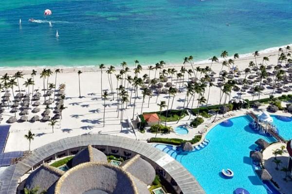 Vue panoramique - Hôtel Hôtel Paradisus Palma Real 5* Punta Cana Republique Dominicaine