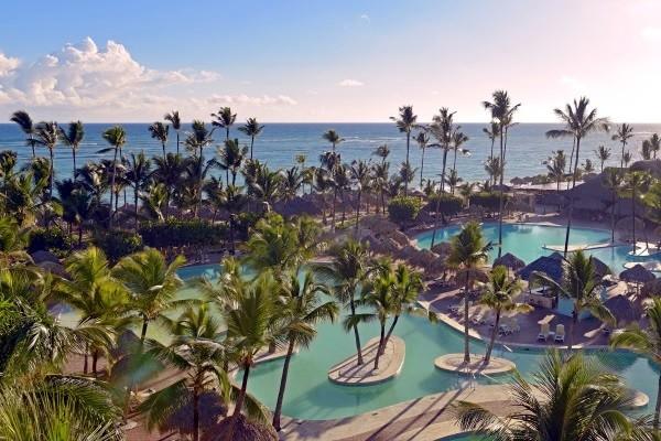 Vue panoramique - Hôtel Iberostar Punta Cana 5* Punta Cana Republique Dominicaine