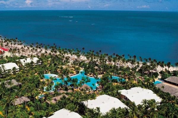 Vue panoramique - Hôtel Melia Caribe Beach Resort 5* Punta Cana Republique Dominicaine