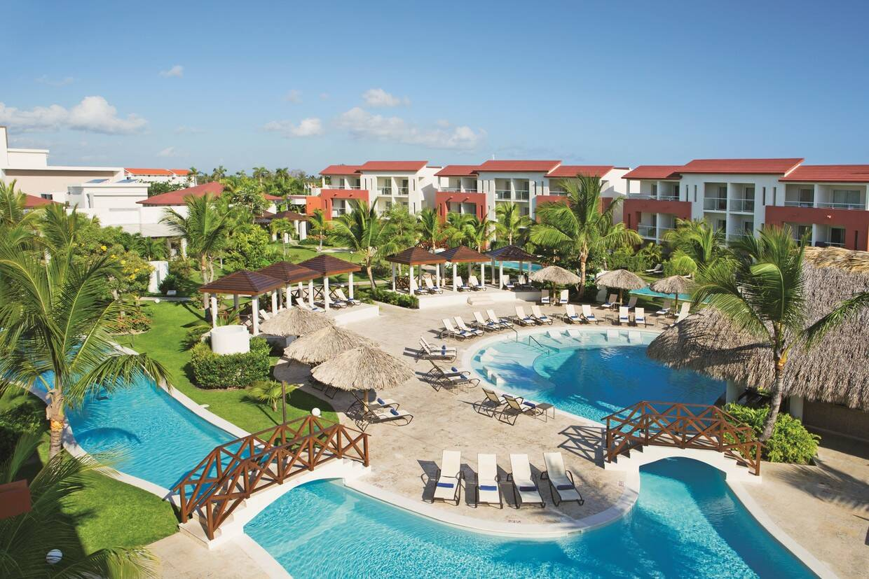 Vue panoramique - Now Larimar Punta Cana Resort & Spa 5* Punta Cana Republique Dominicaine