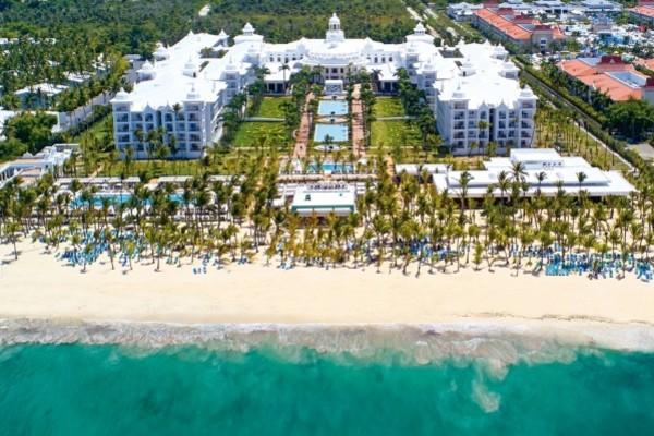 Vue panoramique - Hôtel Riu Palace Punta Cana 5* Punta Cana Republique Dominicaine