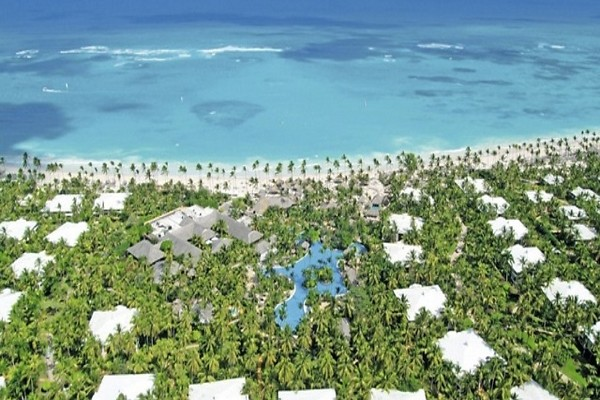 Vue panoramique - Hôtel The Reserve Paradisus Punta Cana 5* Punta Cana Republique Dominicaine