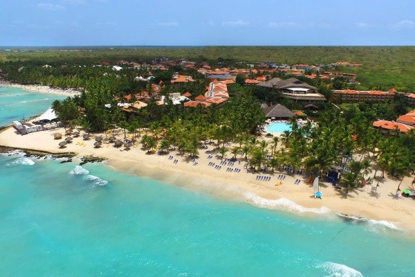 Vue panoramique - Viva Wyndham Dominicus Palace