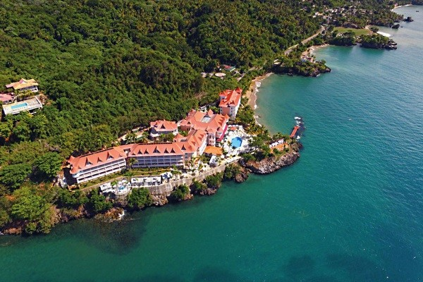 Vue panoramique - Hôtel Luxury Bahia Principe Samana 5* Saint Domingue Republique Dominicaine